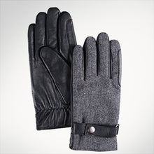 Load image into Gallery viewer, Men's Touchscreen Leather Gloves