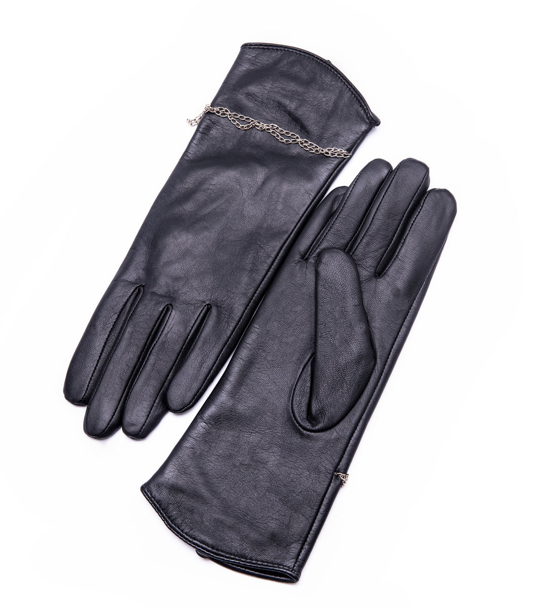 YISEVEN Women's Winter Touchscreen Genuine Lambskin Leather Gloves