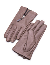 Load image into Gallery viewer, YISEVEN Women Touchscreen Lambskin Leather Gloves Short Cuff