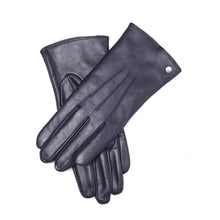 Load image into Gallery viewer, YISEVEN Women's Wool Lined Winter Genuine Leather Gloves Touchscreen Three Points