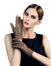 Load image into Gallery viewer, Women's Touchscreen Sheepskin Leather Gloves