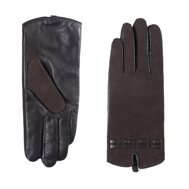 Women's Touchscreen Lambskin Suede Leather Gloves Slim