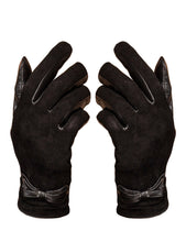 Load image into Gallery viewer, YISEVEN Women's Touchscreen Sheepskin Suede Dress Leather Gloves