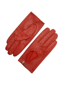 YISEVEN Men's Sheepskin Leather Motorcycle Driving lined Gloves