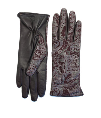 YISEVEN high quality authentic Lambskin Leather Gloves.
