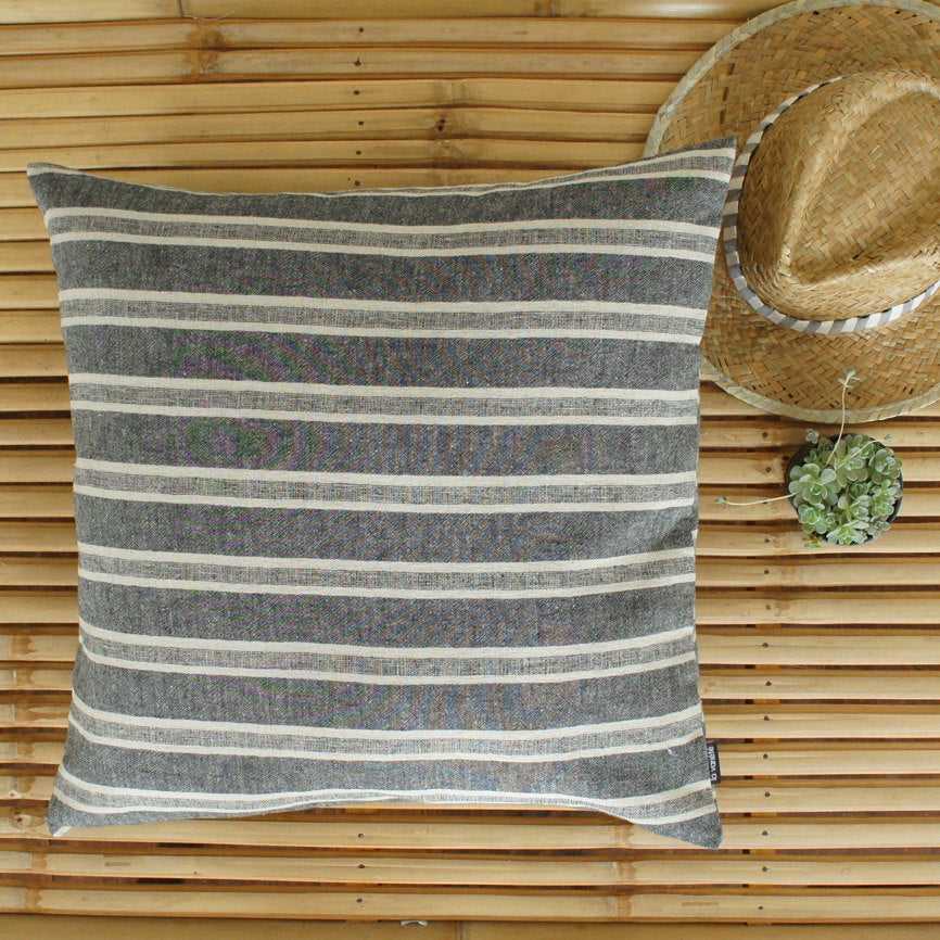Black and Grey Cushion Cover