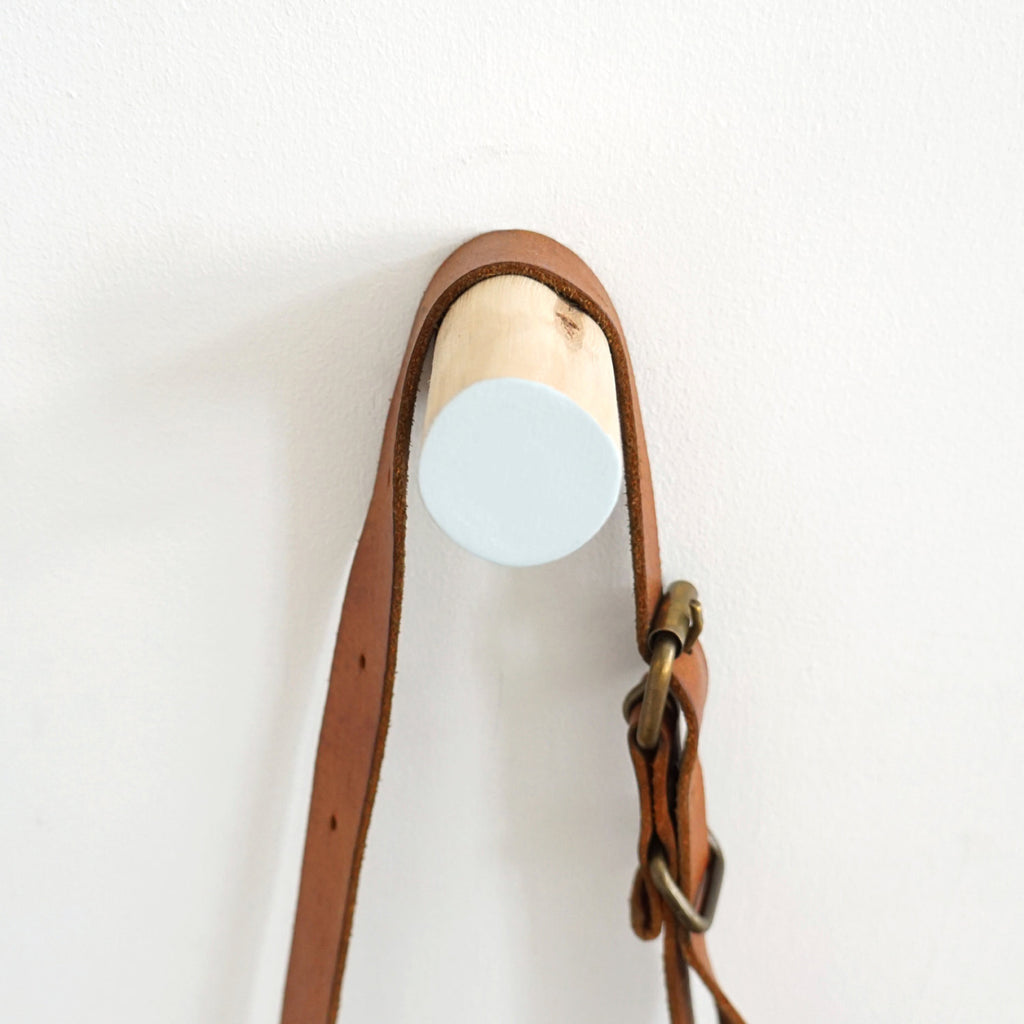 Small Branch Hook (Soft Blue)