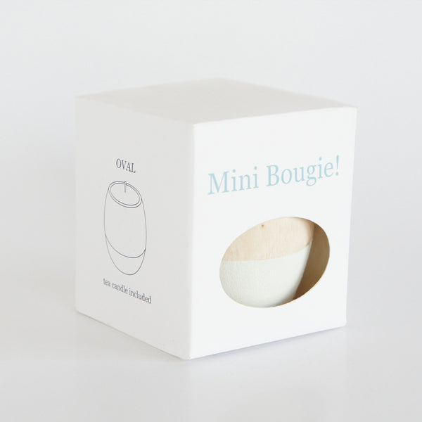 "Mini Bougie ""White"""