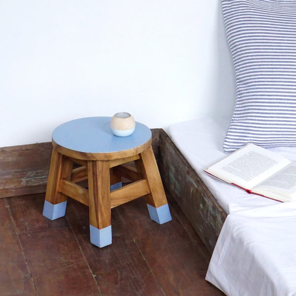 Mini Stool (Blue Med)