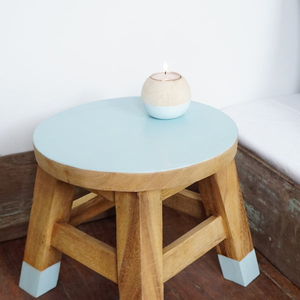 Mini Stool (Green Water)