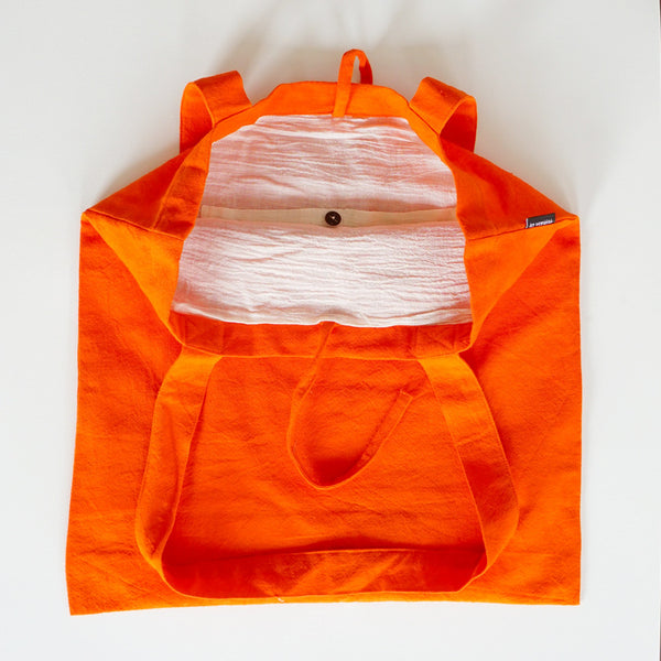 Shopping Bag Deep Orange