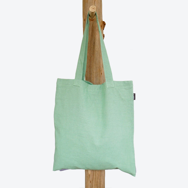 Shopping Bag Pastel Green