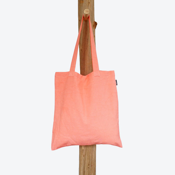 Shopping Bag Pink Salmon