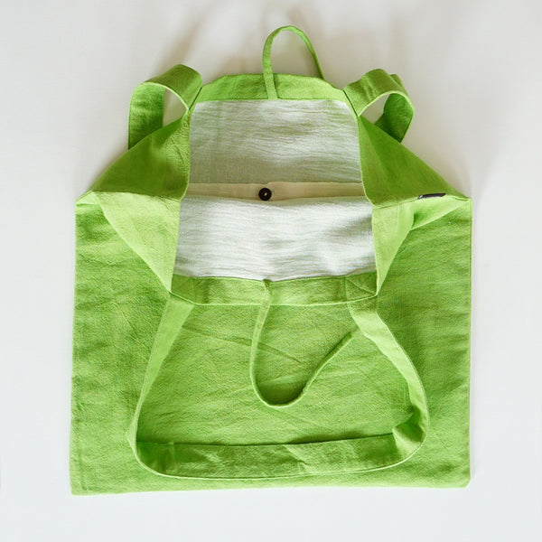 Shopping Bag Green Spring