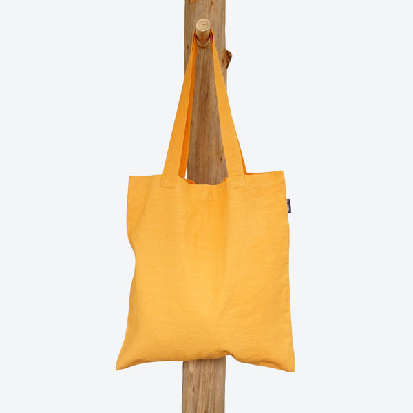 Shopping Bag Yellow Ocre