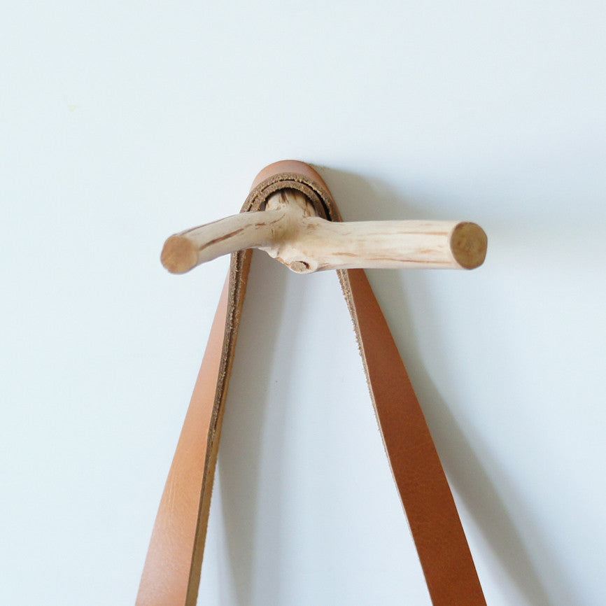 Wall Double Branch Hook (Natural)