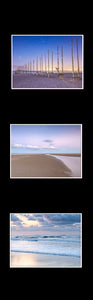 Ikea Billy Oxberg Passepartout Custom made photography Marieke Feenstra hack wadden strand beach fotografie art 3 images