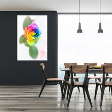 "Afbeelding in Gallery-weergave laden, PRW-012  ""Rainbow Rose"" BLOOM COLLECTIE  Foto Print"