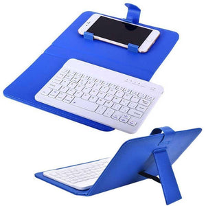 Leather Wireless Keyboard Phone Case