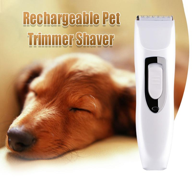 Rechargeable Pet Trimmer Shaver