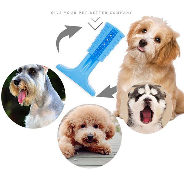 Dog Toothbrush Stick Dog Teeth Cleaning Treats Chew Toys