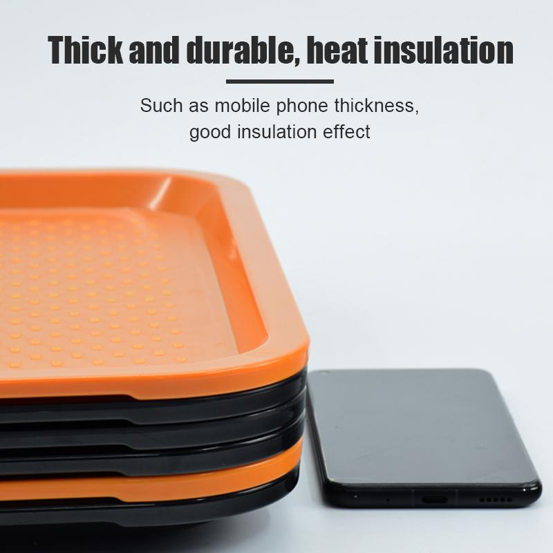 Non Skid Rubber Grip Serving Tray