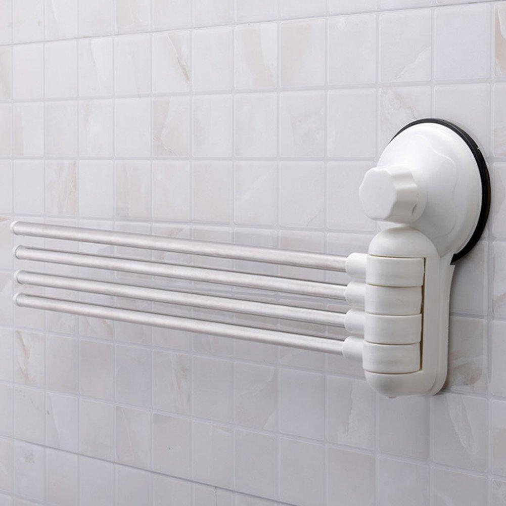 Wall Mounted Rotating Towel Rack