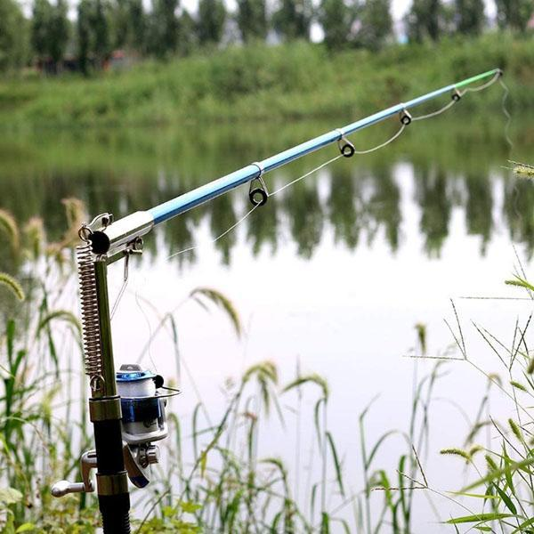 Automatic Fishing Rod Telescopic Pole