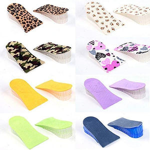 Silicone Honeycomb Double Crystal Transparent Insole
