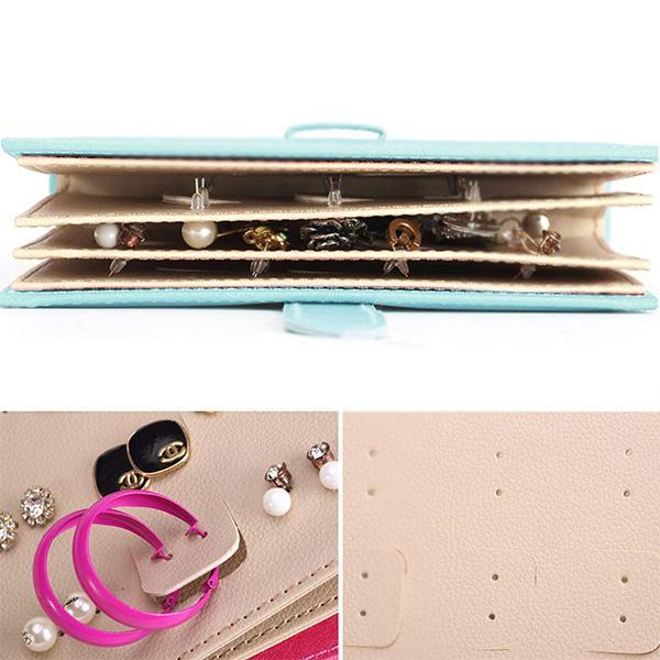 Portable Earrings Organizer Book