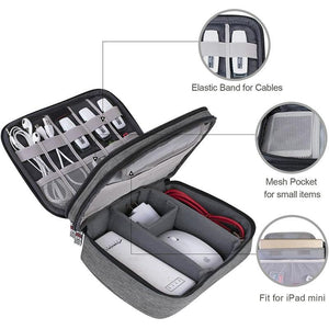 Universal Cable Electronics Organizer Bag