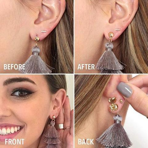 【50% OFF】Hypoallergenic Earring Lifts(1 Pair)