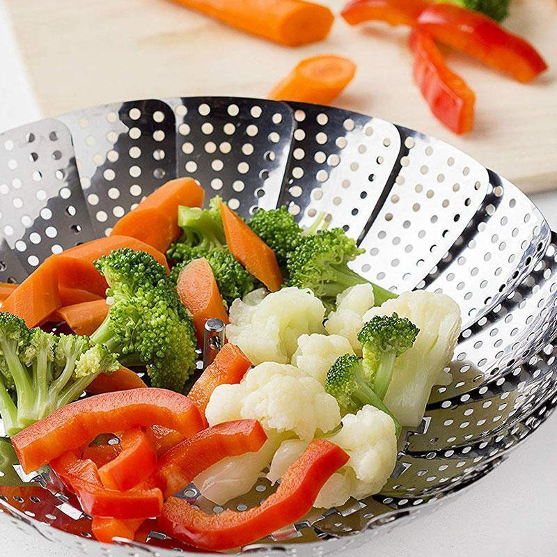 Collapsible Vegetable Steamer Basket