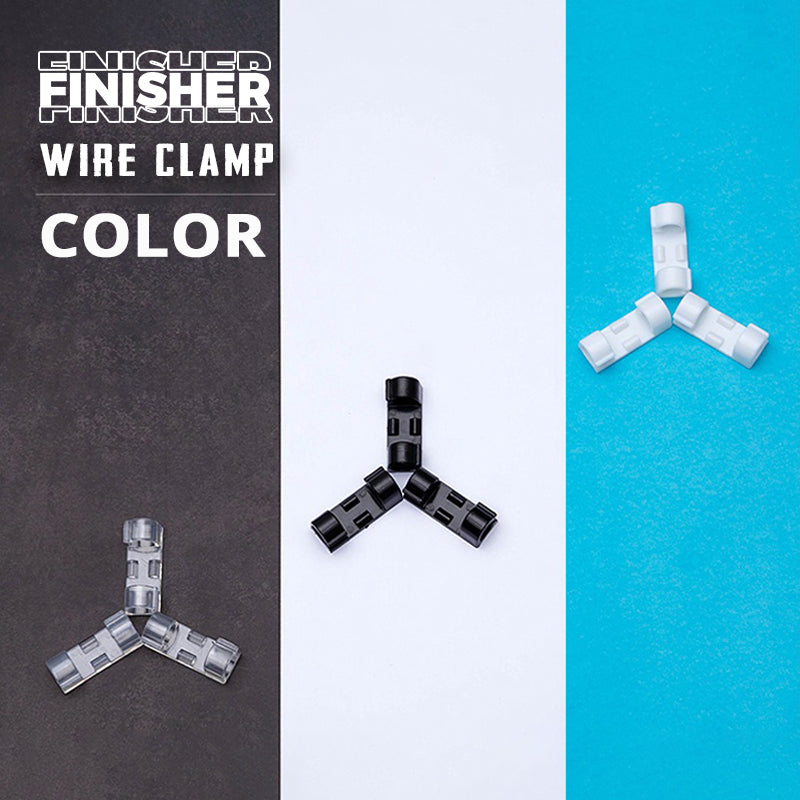 Finisher Wire Clamp, Transparent( ✨✨ limited Time 50% Off✨✨