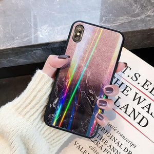 Aurora Marble Iphone Case