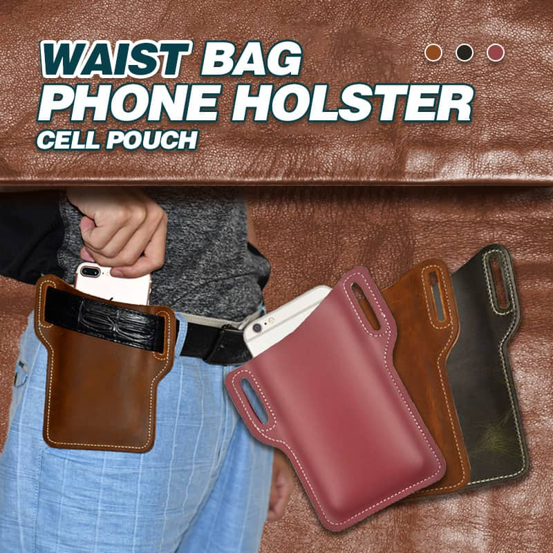 Waist Bag Phone Holster Cell Pouch