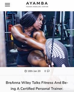 BreAnna Wiley Talks Fitness with The AYAMBA