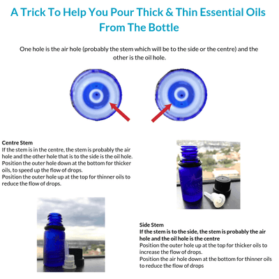 How To Pour Thick And Thin Essential Oils From The Bottle Effectively