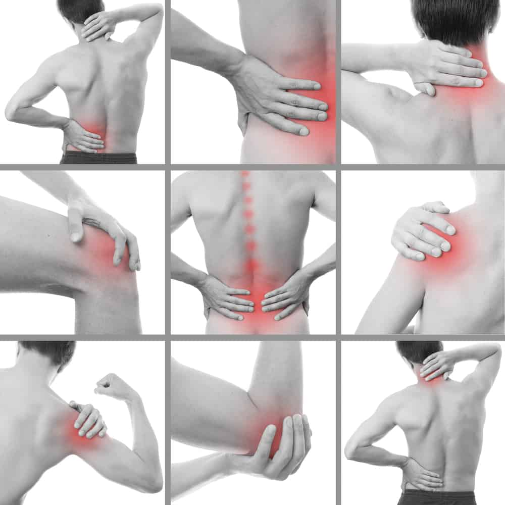 chiropractic treatment areas