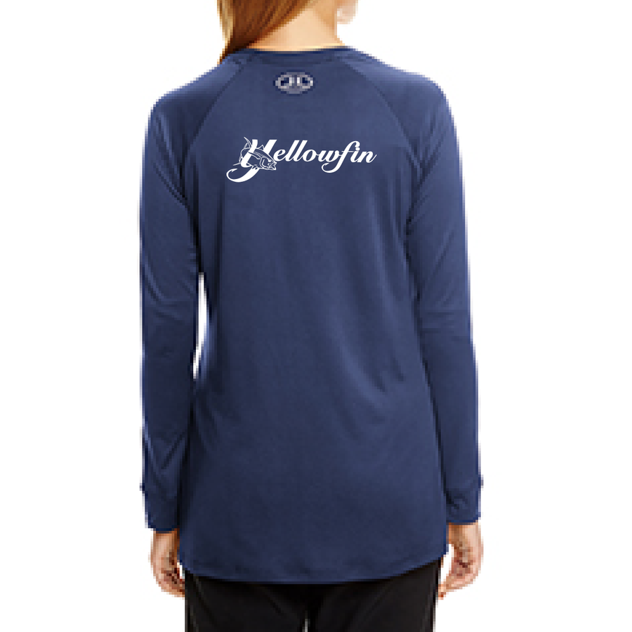 Yellowfin Under Armour Long Sleeve Locker Shirt