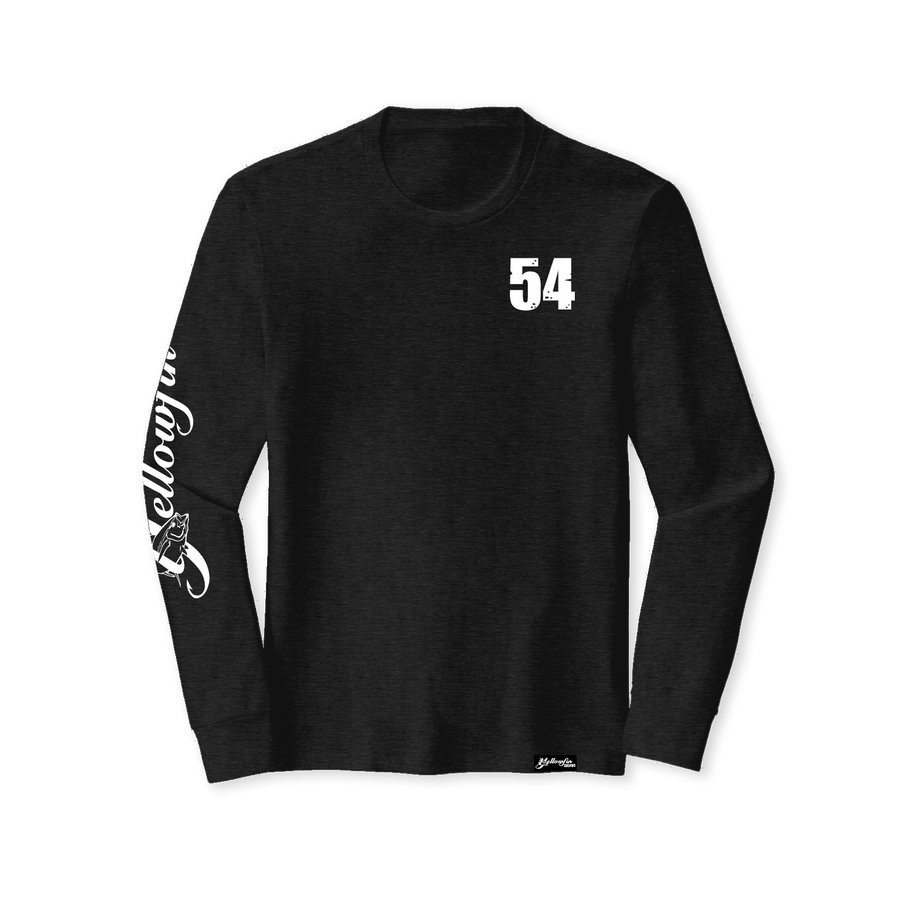 54 Tri-Blend Crew Long Sleeve Tee