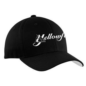 Yellowfin Logo Flexfit® Cotton Twill Cap