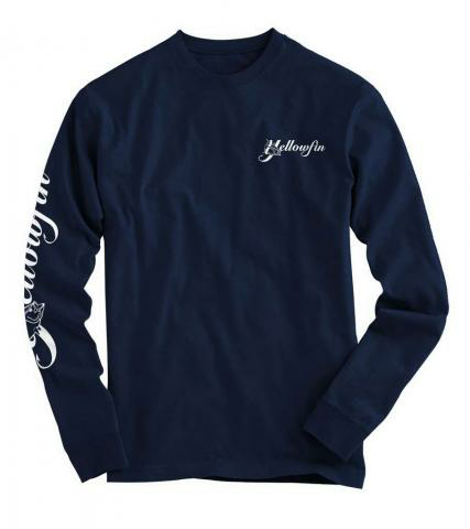 Yellowfin Youth Cotton Long Sleeve Tee