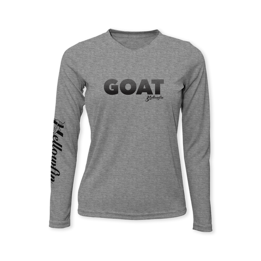 Performance Ladies Long Sleeve T-Shirt - GOAT