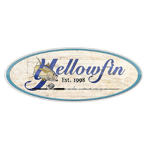 Yellowfin Decal