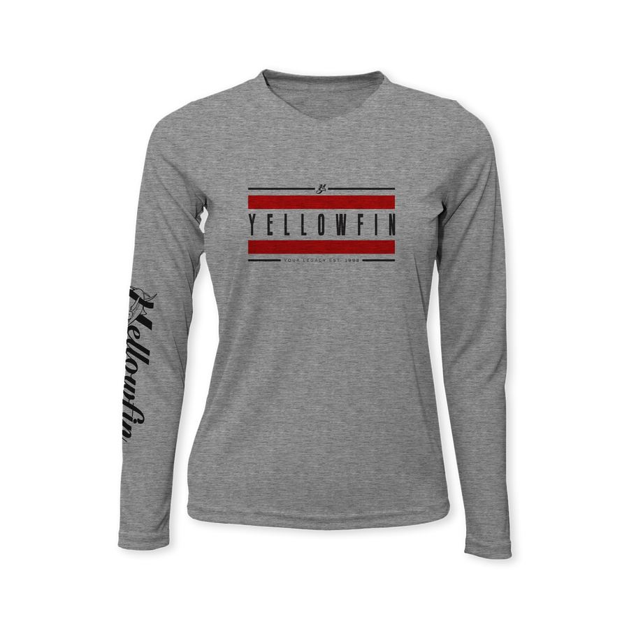 Old School Legacy Performance Ladies Long Sleeve T-Shirt