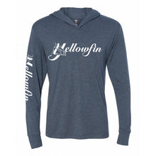 Load image into Gallery viewer, Yellowfin Logo Tri-Blend Hoody