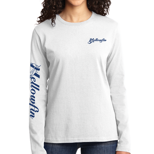 Yellowfin Logo Long Sleeve T-Shirt
