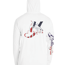 Load image into Gallery viewer, Youth Flag Logo Performance Hoodie