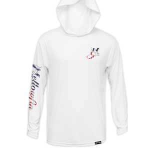 Youth Flag Logo Performance Hoodie